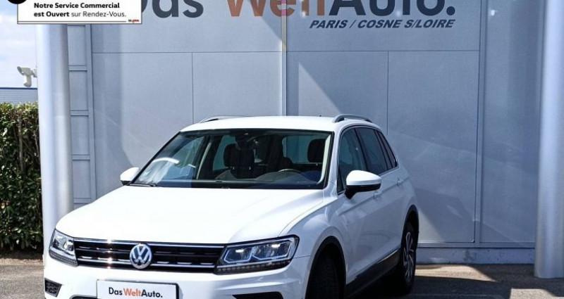 Volkswagen Tiguan 2.0 TDI 150 BMT Sound Blanc occasion à Bourgogne