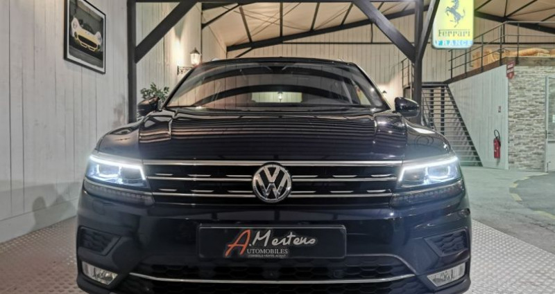 Volkswagen Tiguan 2.0 TDi 150 CV CARAT DSG Noir occasion à Charentilly - photo n°3