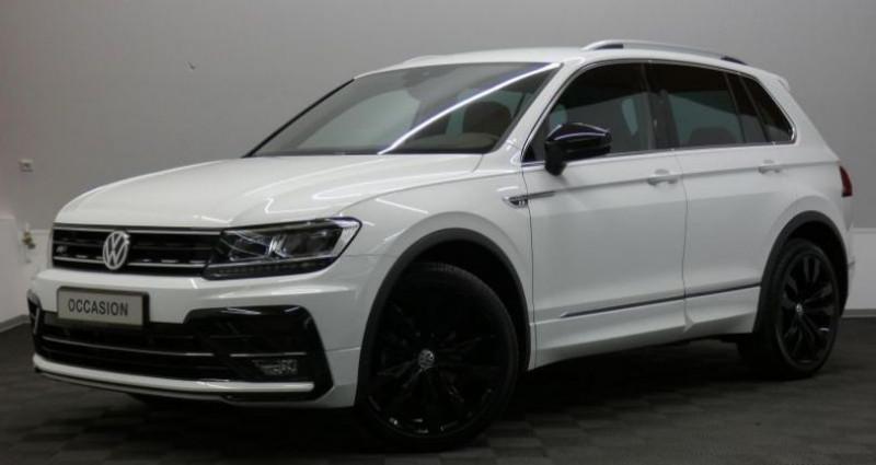Volkswagen Tiguan 2.0 Tdi 150 R-Line 4Motion DSG Blanc occasion à Petange