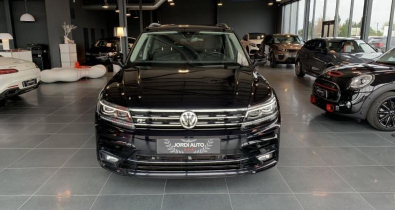 Volkswagen Tiguan 2.0 TDI 150CH 4Motion CARAT R LINE DSG7 Noir occasion à LE SOLER - photo n°4