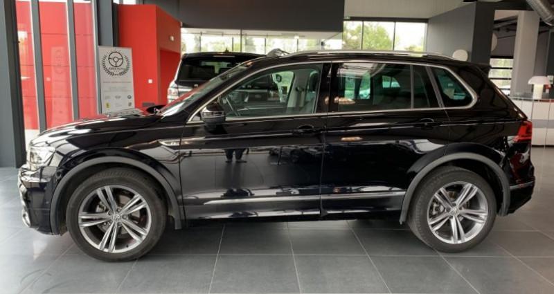 Volkswagen Tiguan 2.0 TDI 150CH 4Motion CARAT R LINE DSG7 Noir occasion à LE SOLER - photo n°2