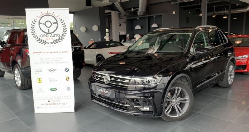 Volkswagen Tiguan 2.0 TDI 150CH 4Motion CARAT R LINE DSG7 Noir occasion à LE SOLER