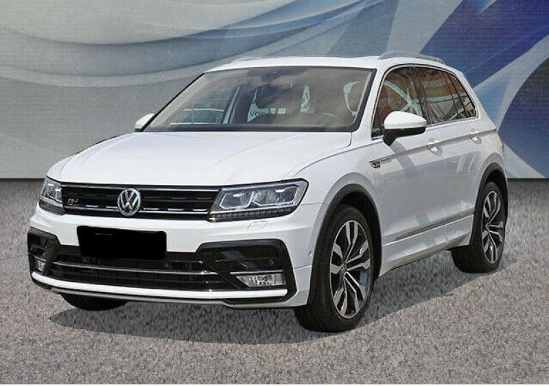 Volkswagen Tiguan 2.0 TDI 150CH BLUEMOTION TECHNOLOGY CARAT EXCLUSIVE 4MOTION  Blanc occasion à Villenave-d'Ornon