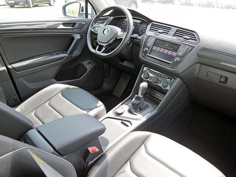Volkswagen Tiguan 2.0 TDI 150CH BLUEMOTION TECHNOLOGY CARAT EXCLUSIVE 4MOTION  Blanc occasion à Villenave-d'Ornon - photo n°9