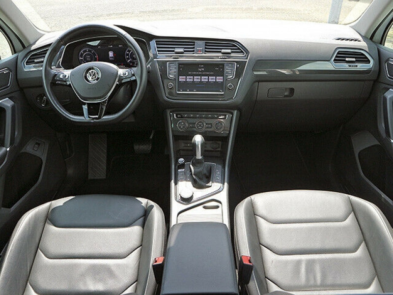 Volkswagen Tiguan 2.0 TDI 150CH BLUEMOTION TECHNOLOGY CARAT EXCLUSIVE 4MOTION  Blanc occasion à Villenave-d'Ornon - photo n°6