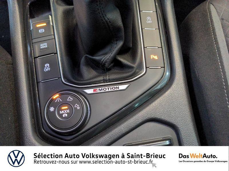 Volkswagen Tiguan 2.0 TDI 150ch BlueMotion Technology Confortline 4Motion Bleu occasion à Saint Brieuc - photo n°20