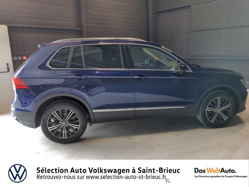 Volkswagen Tiguan 2.0 TDI 150ch BlueMotion Technology Confortline 4Motion Bleu occasion à Saint Brieuc - photo n°4