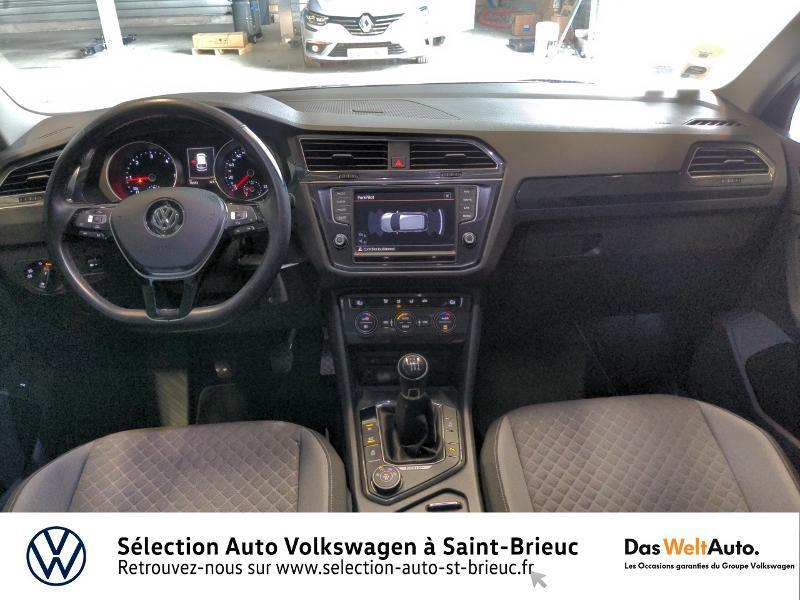 Volkswagen Tiguan 2.0 TDI 150ch BlueMotion Technology Confortline 4Motion Bleu occasion à Saint Brieuc - photo n°6