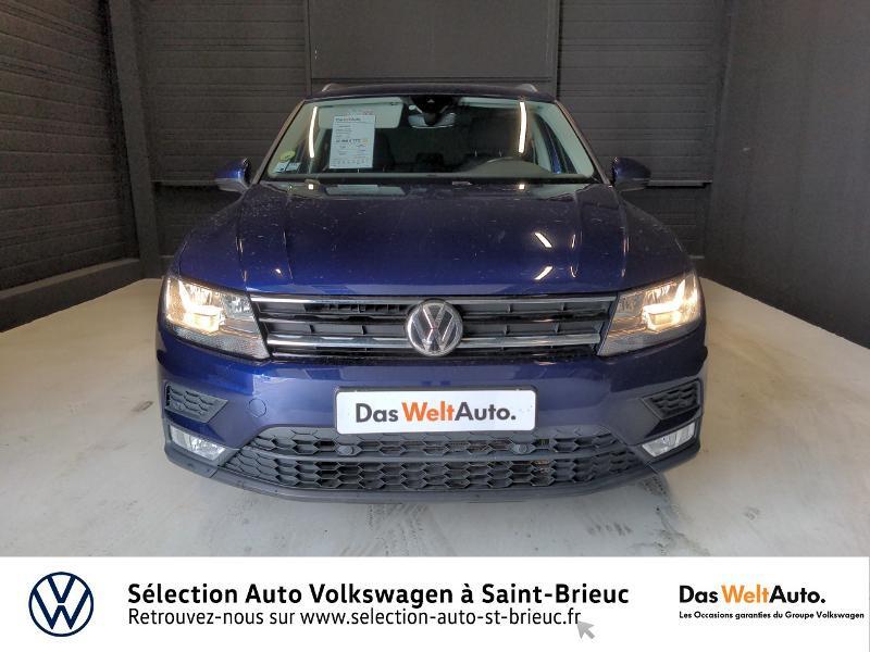 Volkswagen Tiguan 2.0 TDI 150ch BlueMotion Technology Confortline 4Motion Bleu occasion à Saint Brieuc - photo n°5