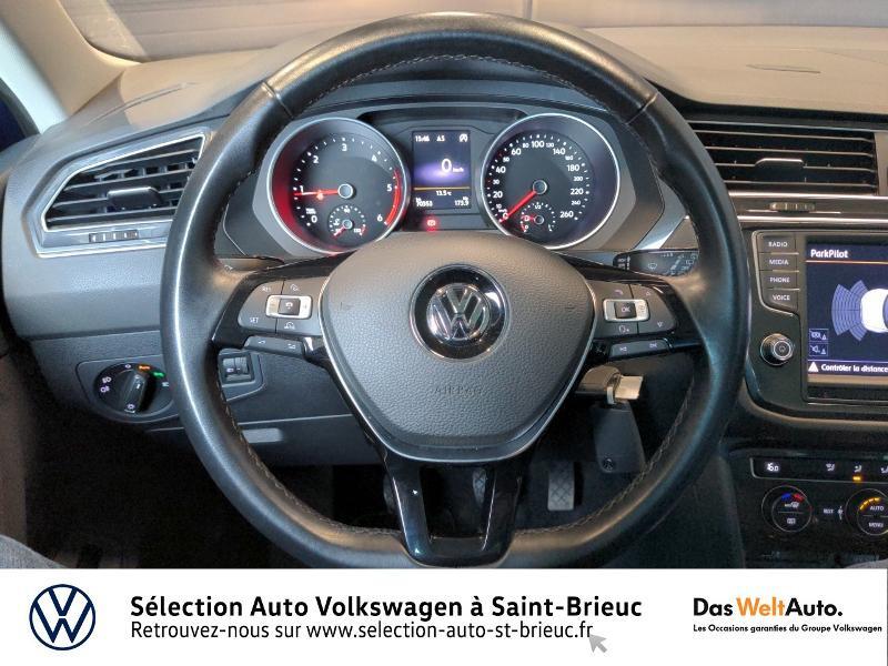 Volkswagen Tiguan 2.0 TDI 150ch BlueMotion Technology Confortline 4Motion Bleu occasion à Saint Brieuc - photo n°7