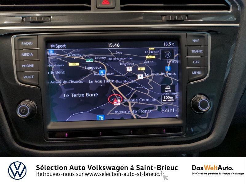 Volkswagen Tiguan 2.0 TDI 150ch BlueMotion Technology Confortline 4Motion Bleu occasion à Saint Brieuc - photo n°8
