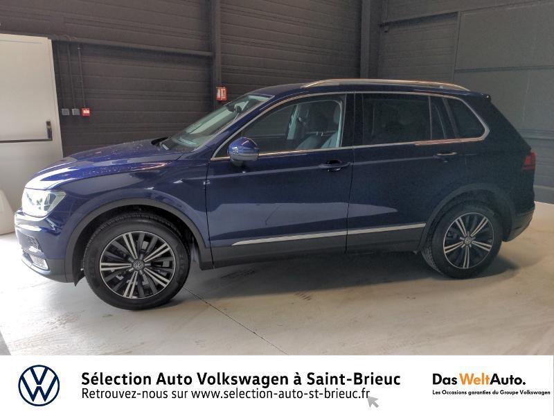Volkswagen Tiguan 2.0 TDI 150ch BlueMotion Technology Confortline 4Motion Bleu occasion à Saint Brieuc - photo n°2