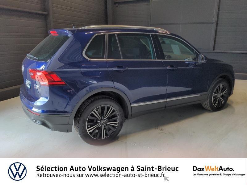 Volkswagen Tiguan 2.0 TDI 150ch BlueMotion Technology Confortline 4Motion Bleu occasion à Saint Brieuc - photo n°3