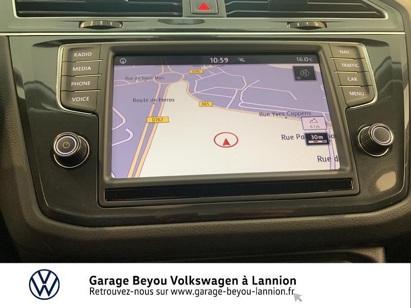 Volkswagen Tiguan 2.0 TDI 150ch BlueMotion Technology Confortline Business DSG Gris occasion à Lannion - photo n°8