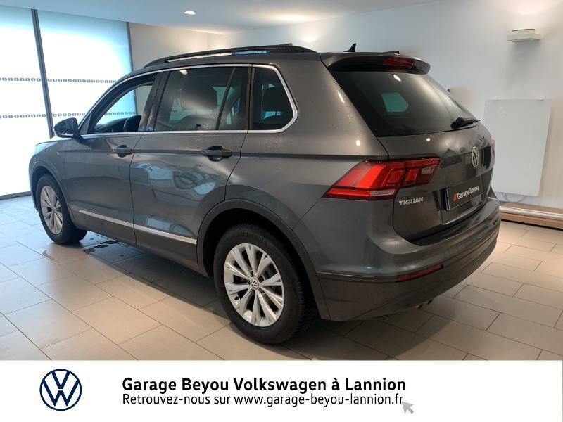 Volkswagen Tiguan 2.0 TDI 150ch BlueMotion Technology Confortline Business DSG Gris occasion à Lannion - photo n°2