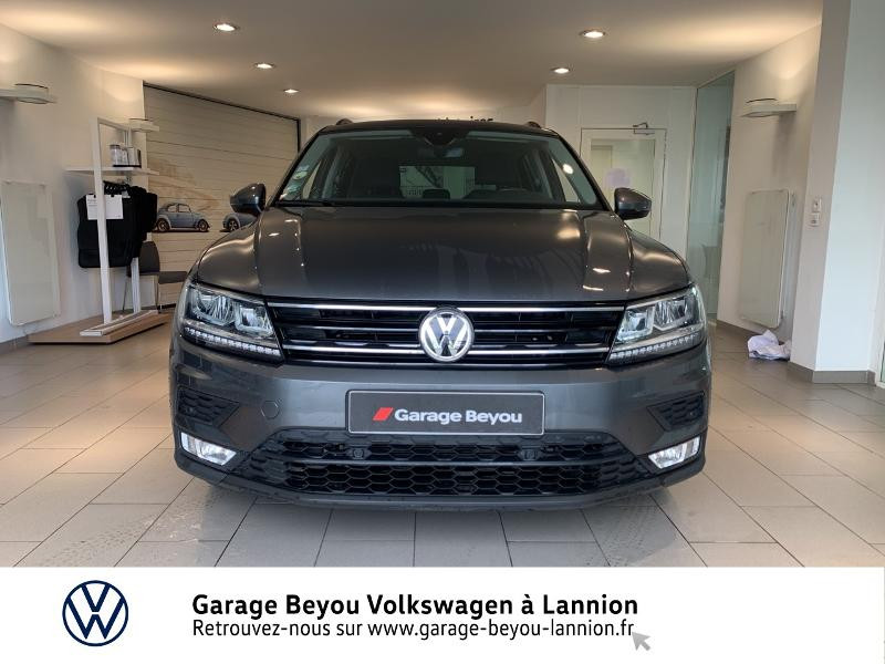 Volkswagen Tiguan 2.0 TDI 150ch BlueMotion Technology Confortline Business DSG Gris occasion à Lannion - photo n°5