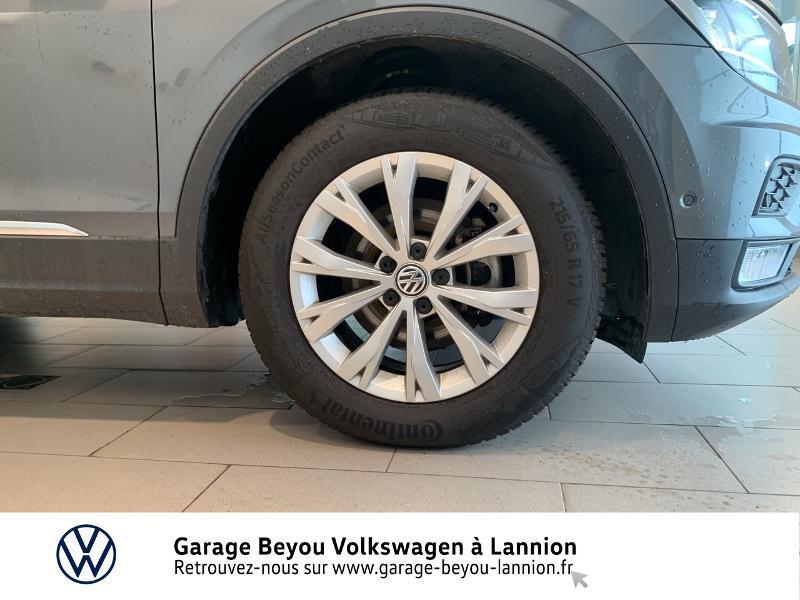 Volkswagen Tiguan 2.0 TDI 150ch BlueMotion Technology Confortline Business DSG Gris occasion à Lannion - photo n°16