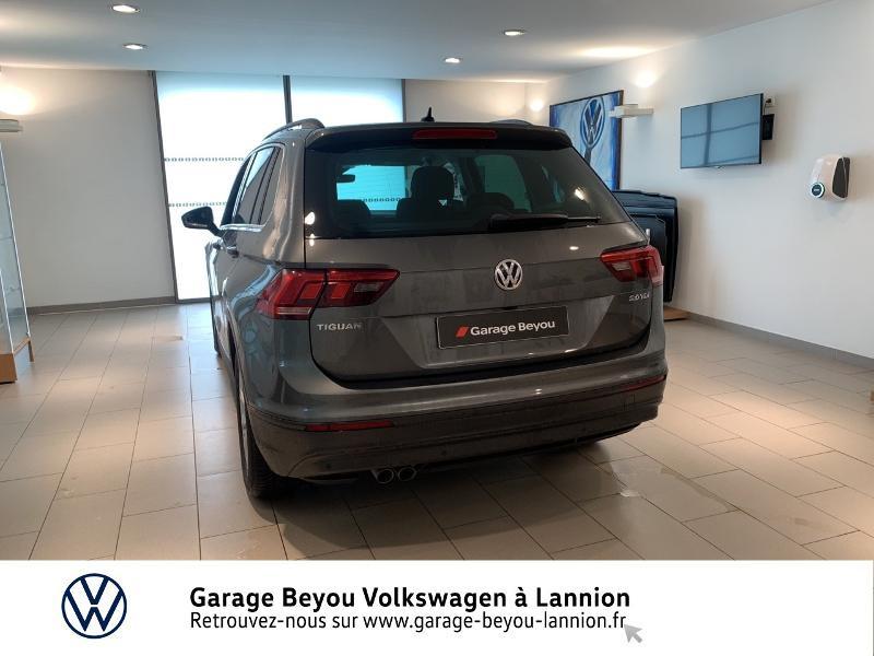 Volkswagen Tiguan 2.0 TDI 150ch BlueMotion Technology Confortline Business DSG Gris occasion à Lannion - photo n°3