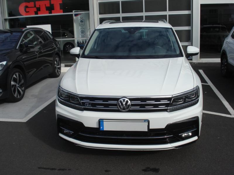 Volkswagen Tiguan 2.0 TDI 150ch Carat 4Motion DSG7 Blanc occasion à Aurillac - photo n°2