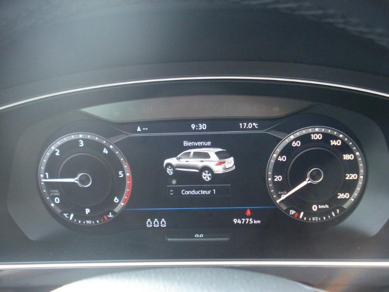 Volkswagen Tiguan 2.0 TDI 150ch Carat 4Motion DSG7 Blanc occasion à Aurillac - photo n°12