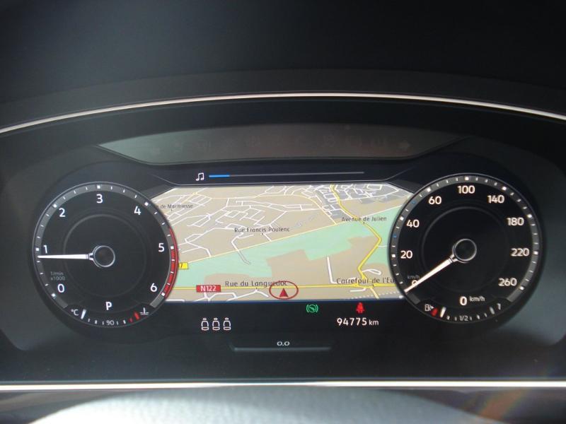 Volkswagen Tiguan 2.0 TDI 150ch Carat 4Motion DSG7 Blanc occasion à Aurillac - photo n°13