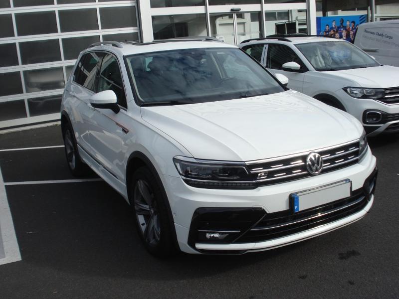 Volkswagen Tiguan 2.0 TDI 150ch Carat 4Motion DSG7 Blanc occasion à Aurillac