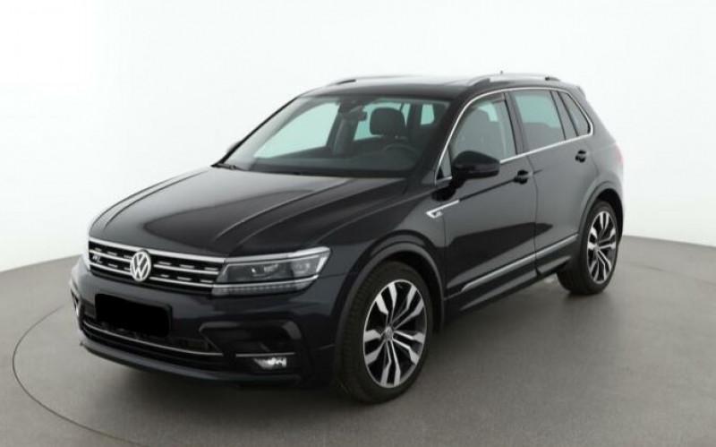 Volkswagen Tiguan 2.0 TDI 150CH CARAT 4MOTION DSG7 Noir occasion à Villenave-d'Ornon