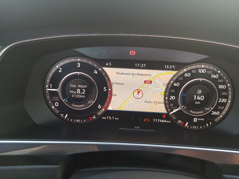 Volkswagen Tiguan 2.0 TDI 150ch Carat 4Motion Blanc occasion à Onet-le-Château - photo n°4