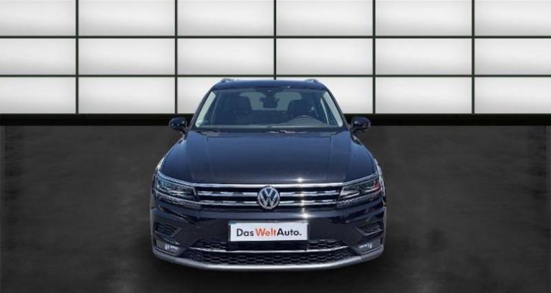 Volkswagen Tiguan 2.0 TDI 150ch Carat DSG7 Noir occasion à La Rochelle - photo n°2