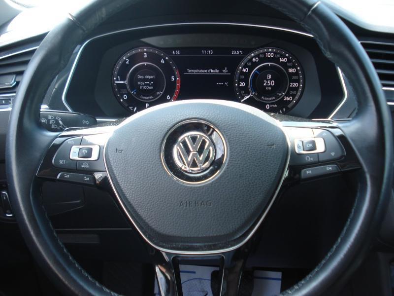 Volkswagen Tiguan 2.0 TDI 150ch Carat DSG7 Gris occasion à Aurillac - photo n°14