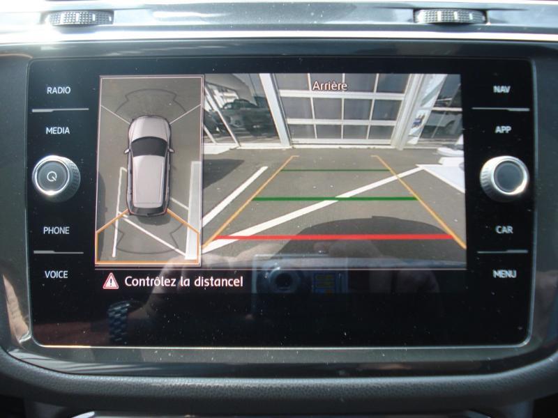 Volkswagen Tiguan 2.0 TDI 150ch Carat DSG7 Gris occasion à Aurillac - photo n°8