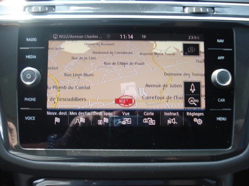 Volkswagen Tiguan 2.0 TDI 150ch Carat DSG7 Gris occasion à Aurillac - photo n°6