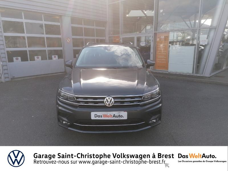 Volkswagen Tiguan 2.0 TDI 150ch Carat DSG7 Gris occasion à Brest - photo n°5