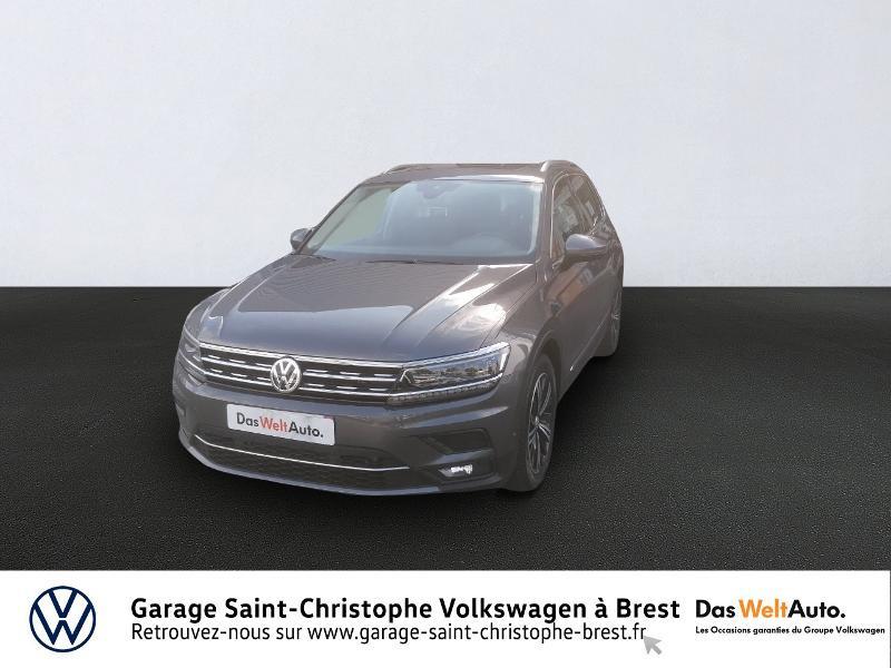 Volkswagen Tiguan 2.0 TDI 150ch Carat DSG7 Gris occasion à Brest