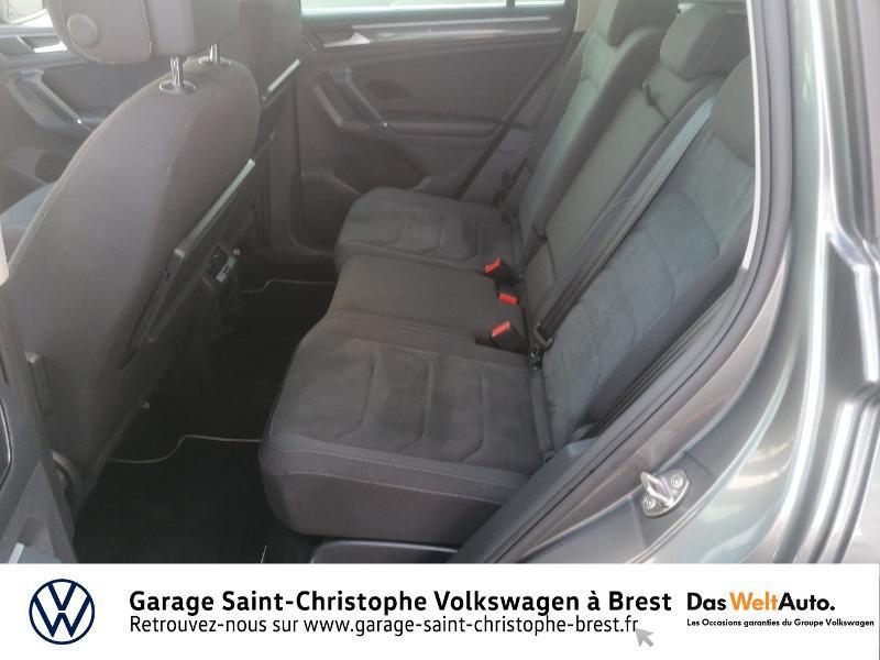Volkswagen Tiguan 2.0 TDI 150ch Carat DSG7 Gris occasion à Brest - photo n°11
