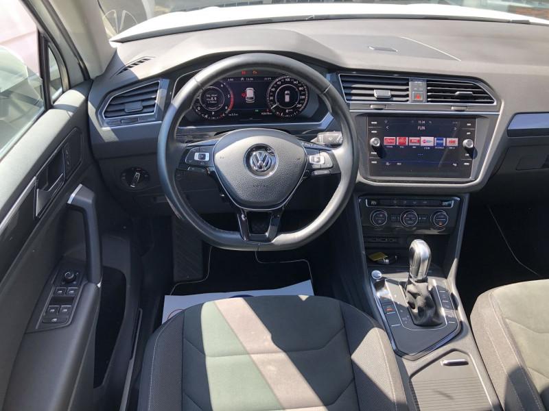Volkswagen Tiguan 2.0 TDI 150CH CARAT DSG7 Blanc occasion à TOULOUSE - photo n°5