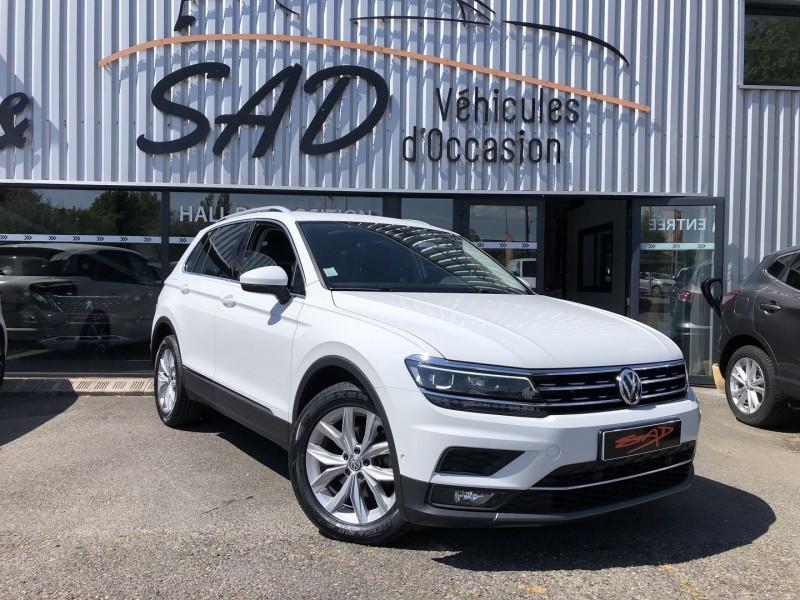 Volkswagen Tiguan 2.0 TDI 150CH CARAT DSG7 Blanc occasion à TOULOUSE
