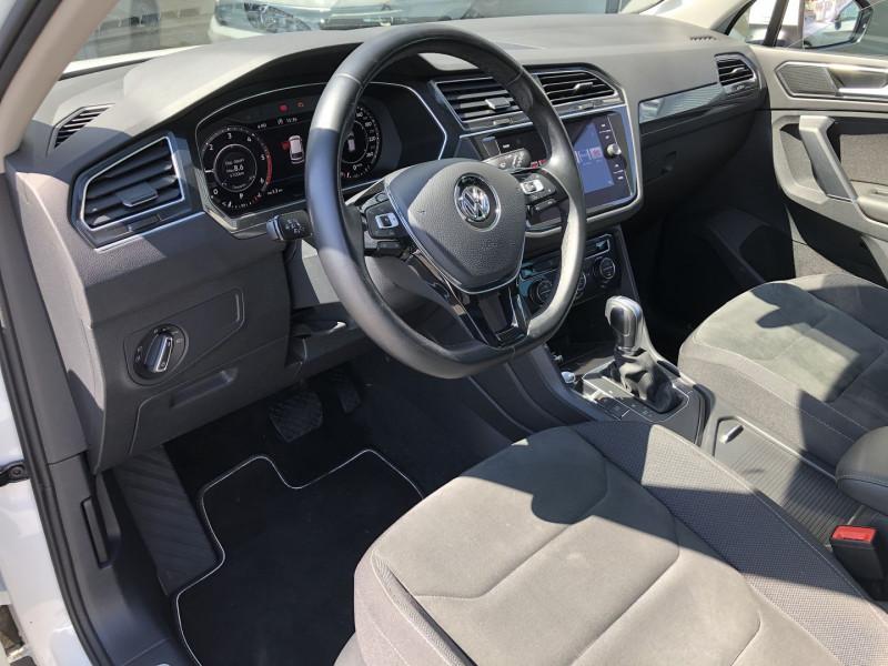 Volkswagen Tiguan 2.0 TDI 150CH CARAT DSG7 Blanc occasion à TOULOUSE - photo n°3