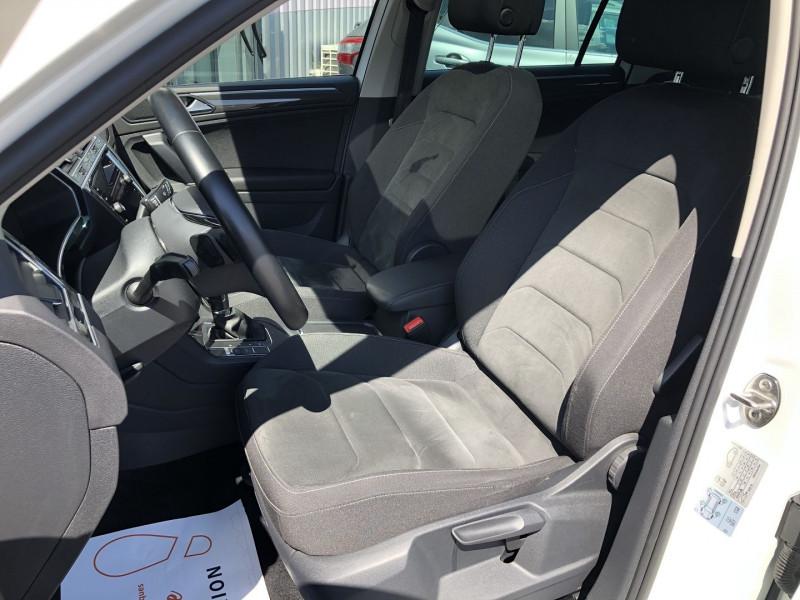 Volkswagen Tiguan 2.0 TDI 150CH CARAT DSG7 Blanc occasion à TOULOUSE - photo n°4