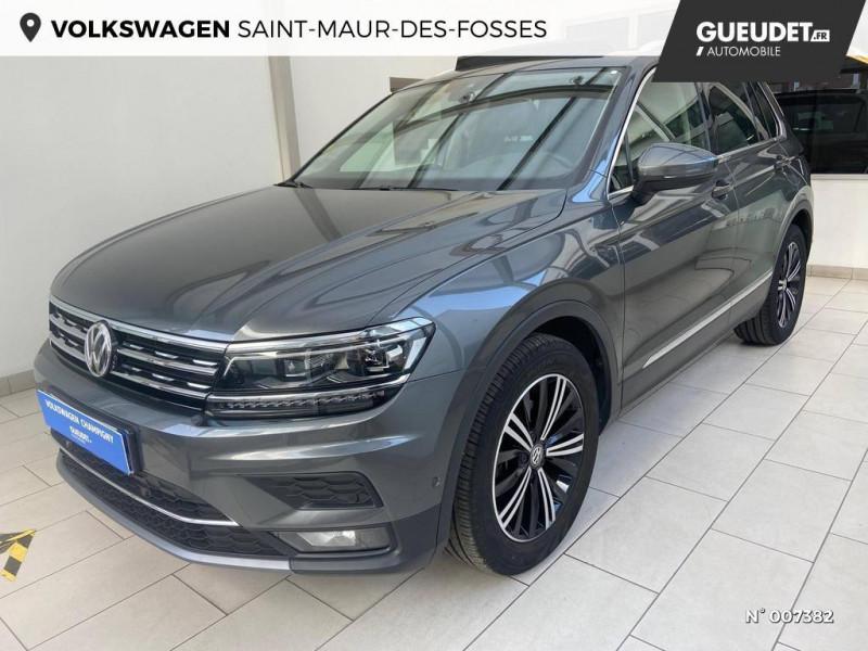 Volkswagen Tiguan 2.0 TDI 150ch Carat DSG7  occasion à Saint-Maur-des-Fossés