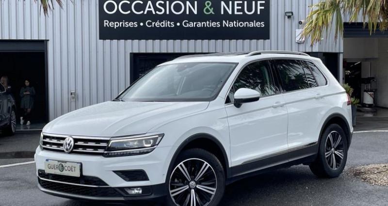 Volkswagen Tiguan 2.0 TDI 150CH CARAT EXCLUSIVE DSG7 EURO6D-T Blanc occasion à GUER