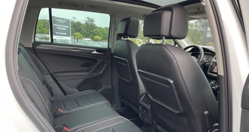 Volkswagen Tiguan 2.0 TDI 150CH CARAT EXCLUSIVE DSG7 EURO6D-T Blanc occasion à GUER - photo n°6