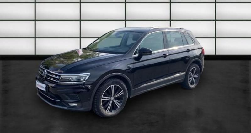 Volkswagen Tiguan 2.0 TDI 150ch Carat Exclusive DSG7 Noir occasion à La Rochelle