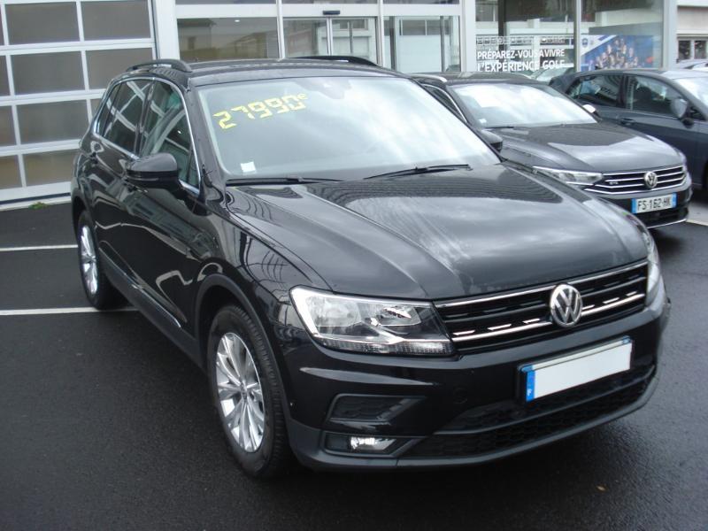 Volkswagen Tiguan 2.0 TDI 150ch Confortline Business Euro6d-T Noir occasion à Aurillac