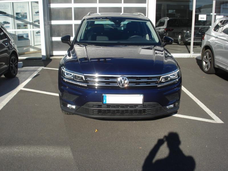 Volkswagen Tiguan 2.0 TDI 150ch IQ.Drive DSG7 Euro6d-T Bleu occasion à Aurillac - photo n°2