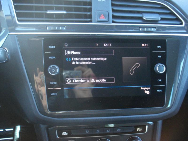 Volkswagen Tiguan 2.0 TDI 150ch IQ.Drive DSG7 Euro6d-T Bleu occasion à Aurillac - photo n°7