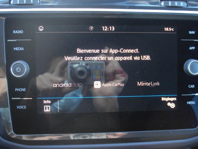 Volkswagen Tiguan 2.0 TDI 150ch IQ.Drive DSG7 Euro6d-T Bleu occasion à Aurillac - photo n°9