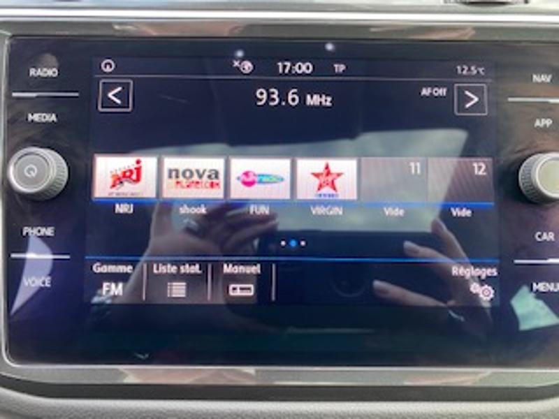 Volkswagen Tiguan 2.0 TDI 150ch Match DSG7 Euro6d-T Noir occasion à TARBES  - photo n°16