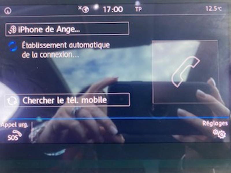 Volkswagen Tiguan 2.0 TDI 150ch Match DSG7 Euro6d-T Noir occasion à TARBES  - photo n°14