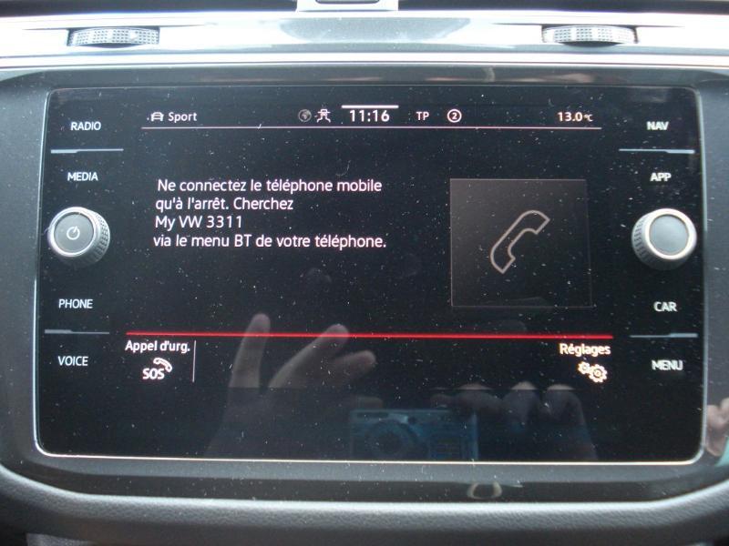 Volkswagen Tiguan 2.0 TDI 150ch R-Line 4Motion DSG7 Argent occasion à Aurillac - photo n°5